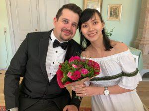 Процесс церемонии брака в Дании